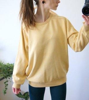 Daniel Hechter Strickpullover gelb, oversized Pullover casual, blogger