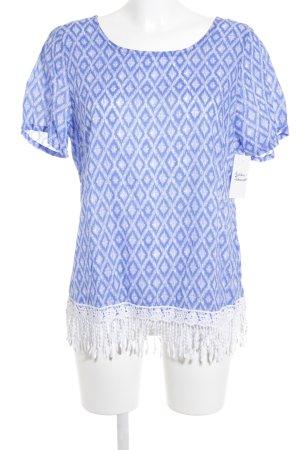 Daniel Hechter T-Shirt abstraktes Muster Casual-Look
