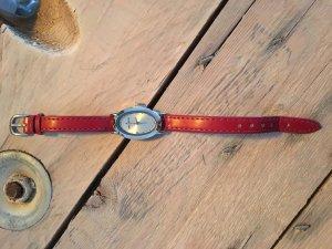 Daniel Hechter Reloj con pulsera de cuero multicolor Cuero
