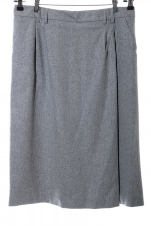Daniel Hechter Gonna di lana grigio chiaro stampa integrale stile casual