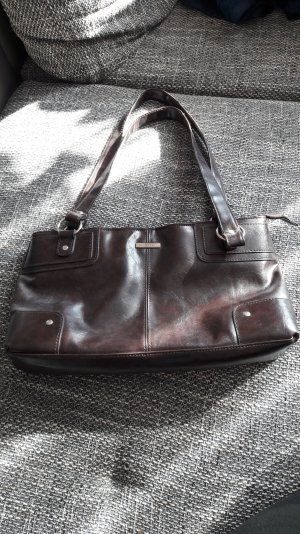 Carry Bag bronze-colored polyurethane
