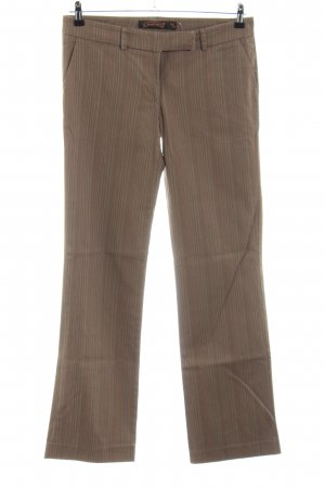 Daniel Stern Chinos brown-nude striped pattern casual look