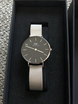 Daniel Wellington Reloj analógico color plata-negro