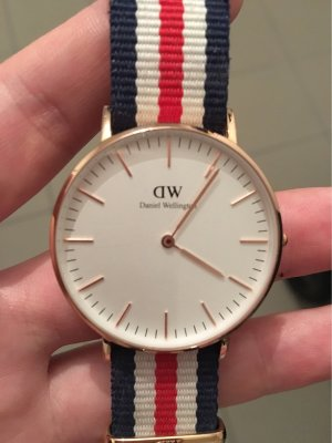 Daniel Wellington Analog Watch multicolored