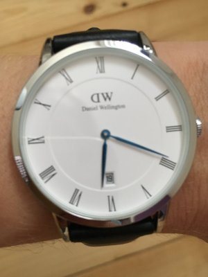 Daniel Wellington Armbanduhr Dapper Sheffield Silver 1121DW