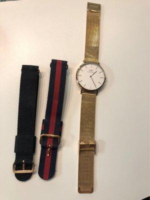 Daniel Wellington Watch With Metal Strap multicolored