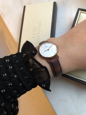 Daniel Wellington Reloj con pulsera de cuero multicolor Cuero