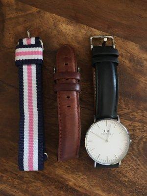 Daniel Wellington Uhr CLASSIC PETITE SHEFFIELD mit 3 Bändern