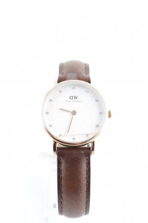 Daniel Wellington Uhr mit Lederarmband mehrfarbig Elegant