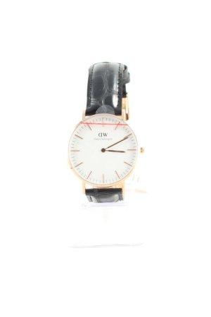 Daniel Wellington Uhr mit Lederarmband schwarz Elegant