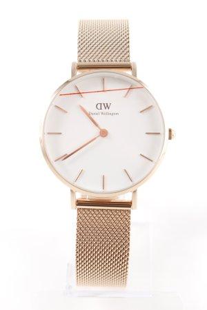 Daniel Wellington Watch With Metal Strap rose-gold-coloured elegant