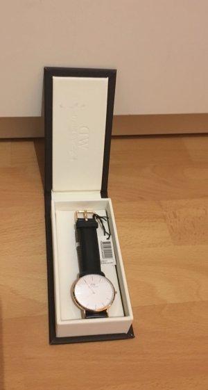 Daniel Wellington Uhr Original schwarz Gold klassisch