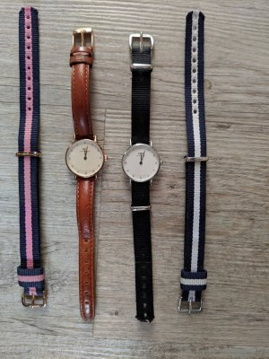 Daniel Wellington Analog Watch silver-colored-rose-gold-coloured