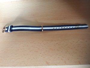Daniel Wellington Fermoir de montre bleu acier-blanc