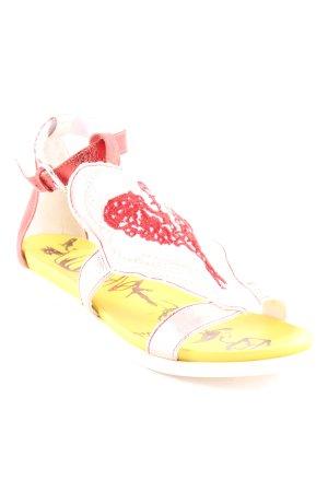 Daniela Dalla Valle Riemchen-Sandalen mehrfarbig extravaganter Stil