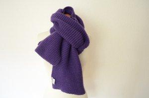 Cashmere Scarf dark violet cashmere