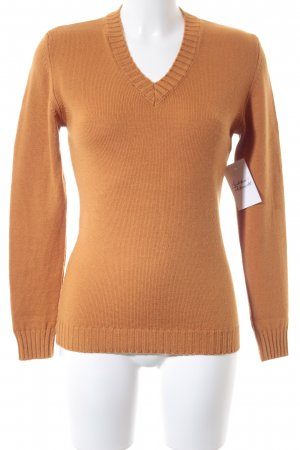 Daniels & Korff Strickpullover orange Casual-Look
