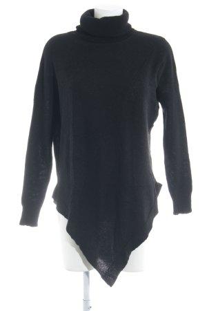 DANIELS Turtleneck Sweater black extravagant style