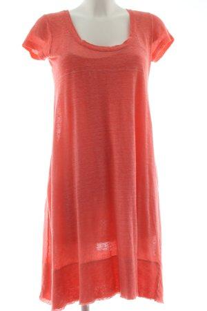 DANIELS Shirt Dress light orange flecked casual look