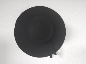 Danish Black Felt Hat