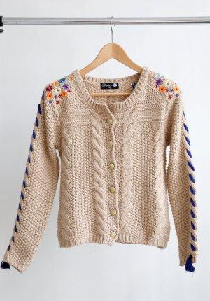 Danity Crochet Cardigan multicolored cotton