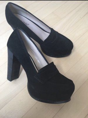 Danny Shoes Platform Pumps black