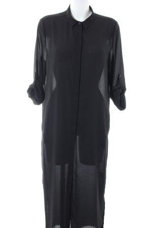 Dante 6 Vestido tipo blusón negro look casual