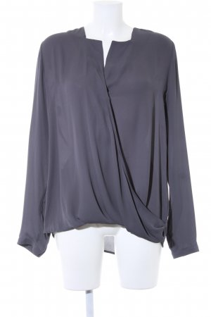 Dante 6 Langarm-Bluse grau Business-Look