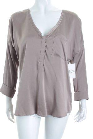 Dante 6 Slip-over blouse grijs-lila elegant