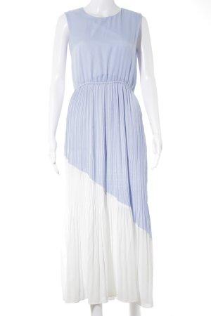 Darccy Abendkleid himmelblau-weiß Elegant