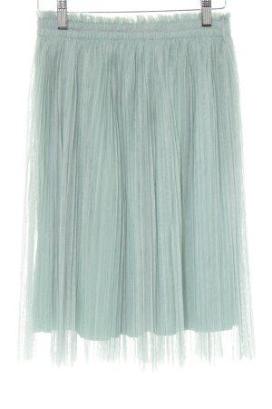 Darccy Falda de tul verde grisáceo look casual