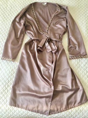 Negligee rose-gold-coloured-dusky pink polyester