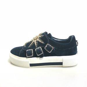 Alexander McQueen Zapatillas azul oscuro