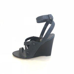 Balenciaga Sandalo con tacco alto blu scuro
