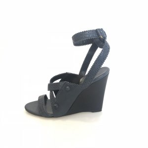 Balenciaga High-Heeled Sandals dark blue