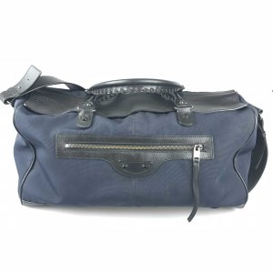 Dark Blue Balenciaga Luggage