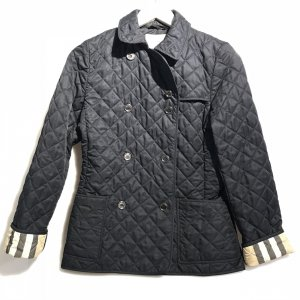 Dark Blue Burberry Jacket