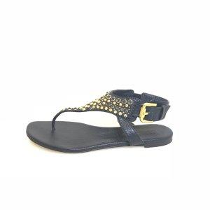 Dark Blue Burberry Sandal