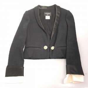 Dark Blue Chanel Blazer
