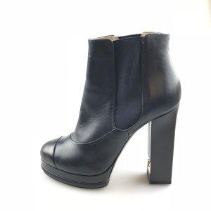 Dark Blue Chanel Boot