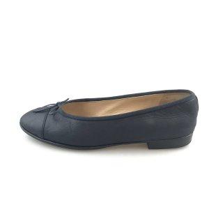 Chanel Ballerina blu scuro