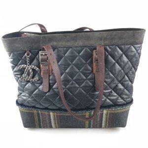 Dark Blue Chanel Shoulder Bag