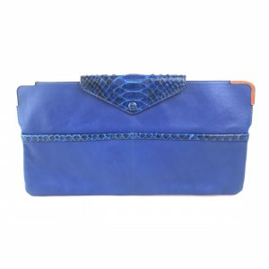 Dark Blue Chloe Clutch
