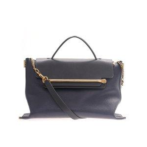 Dark Blue Chloe Cross Body Bag