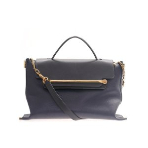 Dark Blue Chloe Cross Body Bag