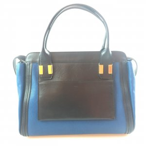 Dark Blue Chloe Shoulder Bag