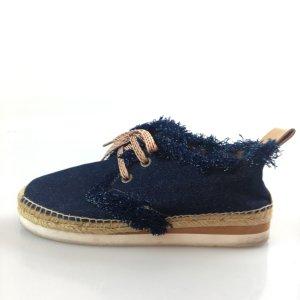 Dark Blue Chloe Sneaker