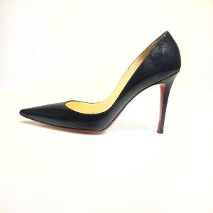 Dark Blue Christian Louboutin High Heel