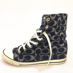 Dark Blue Coach Sneaker