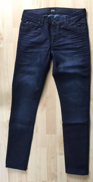 dark blue coated Denim von Lee, skinny fit